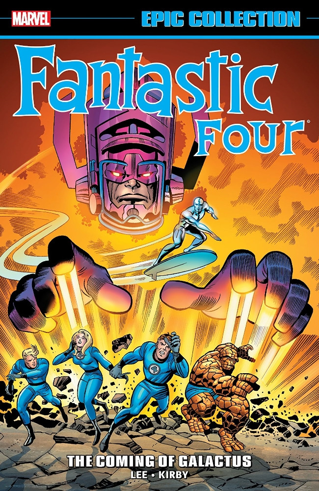 Couverture de Fantastic Four Epic Collection (2014) -INT03- The Coming Of Galactus