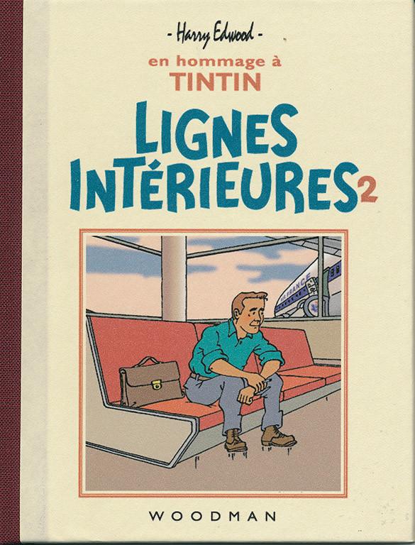 Couverture de Tintin - Pastiches, parodies & pirates - Lignes Intérieures 2