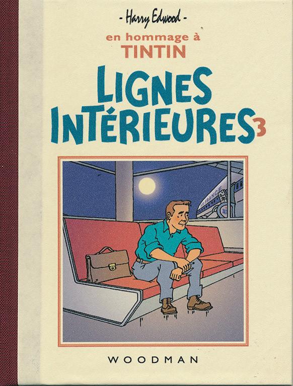 Couverture de Tintin - Pastiches, parodies & pirates - Lignes Intérieures 3