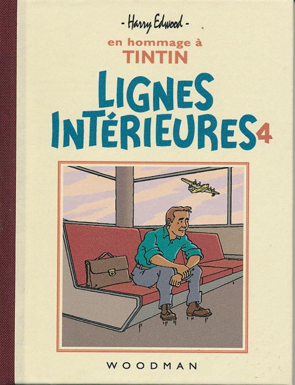 Couverture de Tintin - Pastiches, parodies & pirates - Lignes Intérieures 4