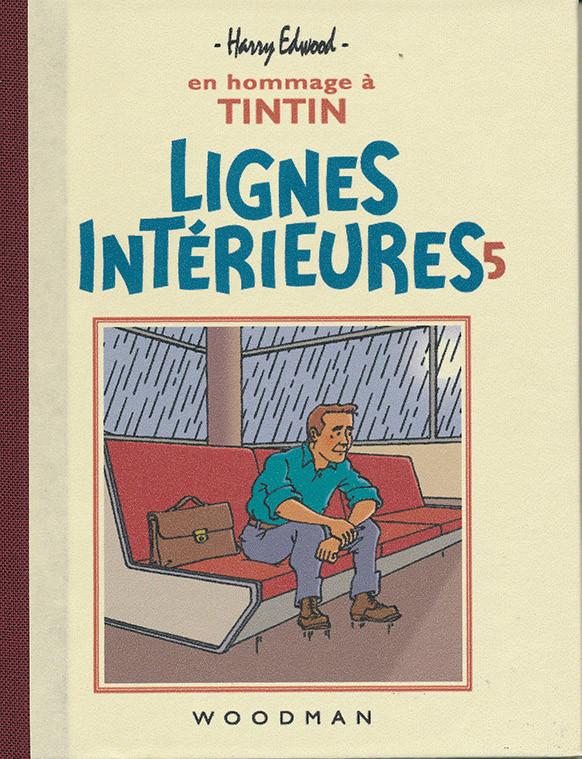Couverture de Tintin - Pastiches, parodies & pirates - Lignes Intérieures 5