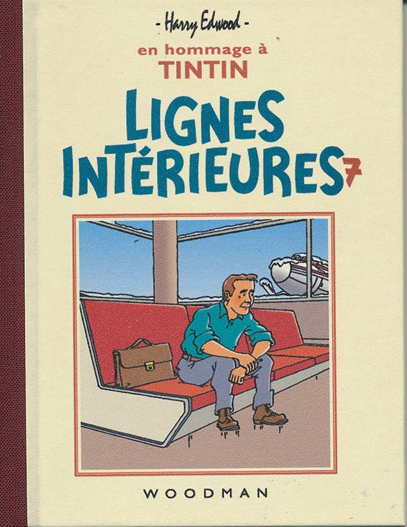 Couverture de Tintin - Pastiches, parodies & pirates - Lignes Intérieures 7