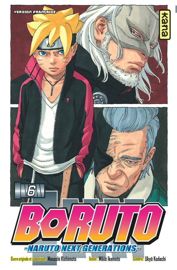 Couverture de Boruto - Naruto Next Generations -6- Kâma