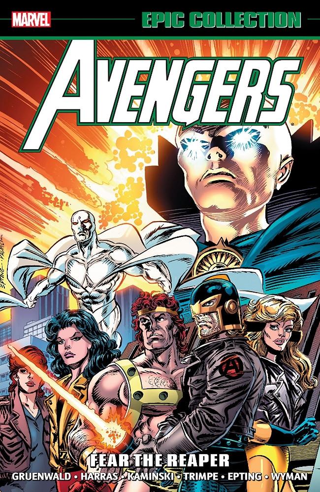 Couverture de Avengers Epic Collection (The) (2013) -INT23- Fear the Reaper