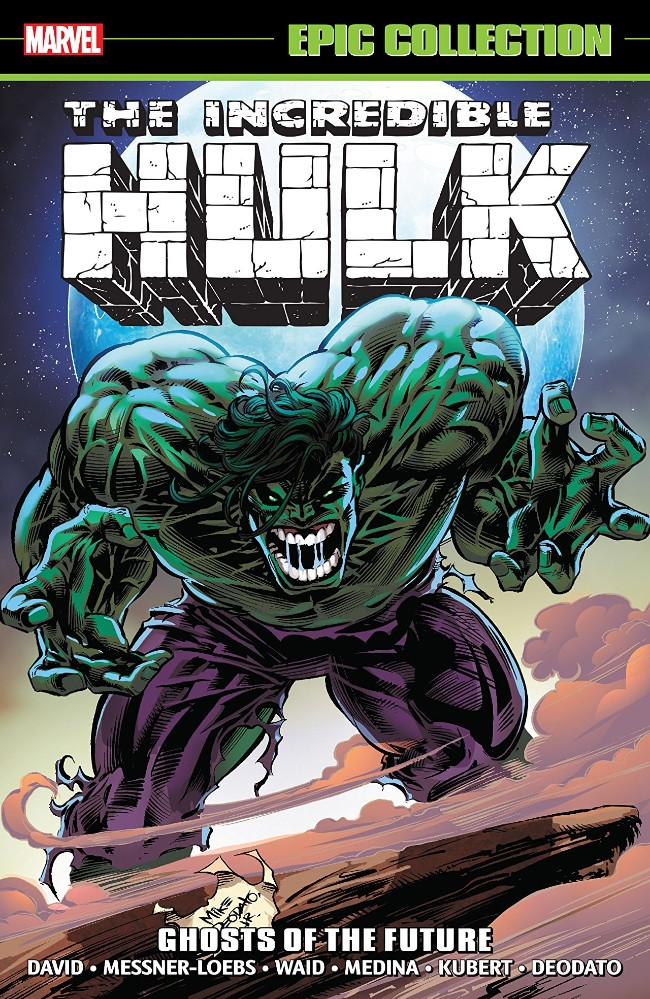 Couverture de Incredible Hulk Epic Collection (2015) -INT22- Ghosts of the Future