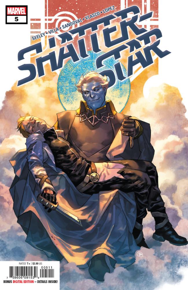 Couverture de Shatterstar (2018) -5- Shatterstar #5