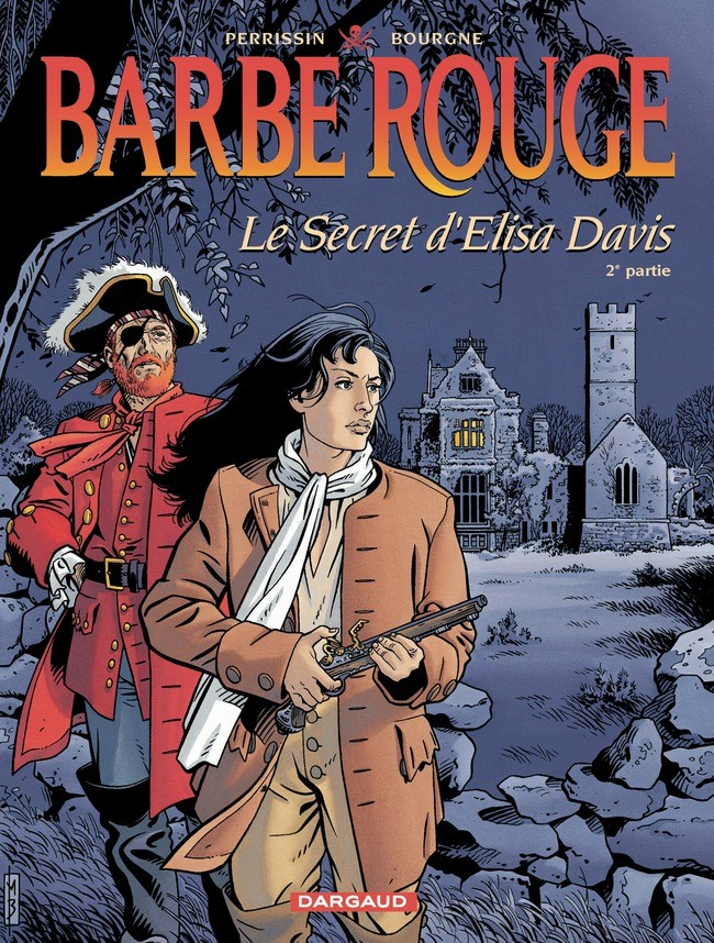 Couverture de Barbe-Rouge -35- Le secret d'Elisa Davis - 2e partie
