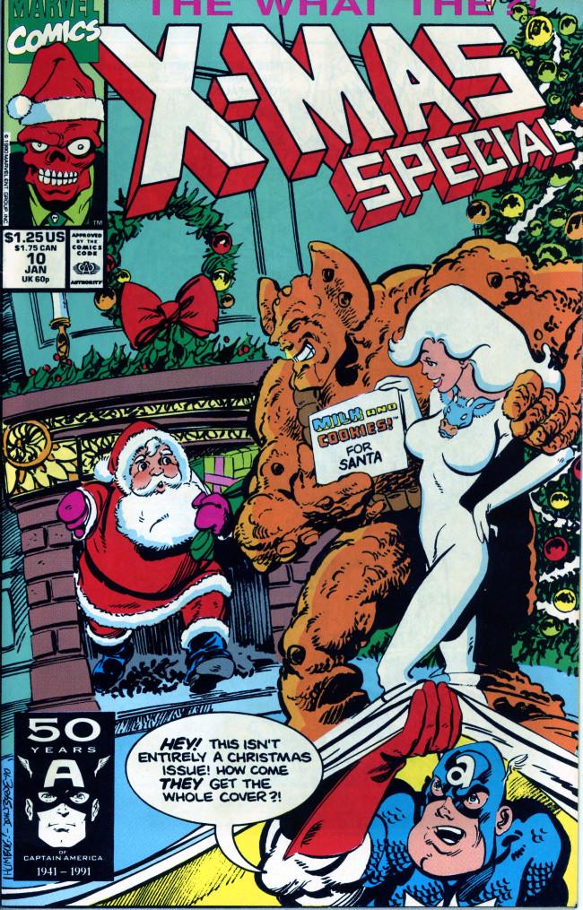 Couverture de What the..?! (Marvel comics - 1988) -10- X-Mas Special