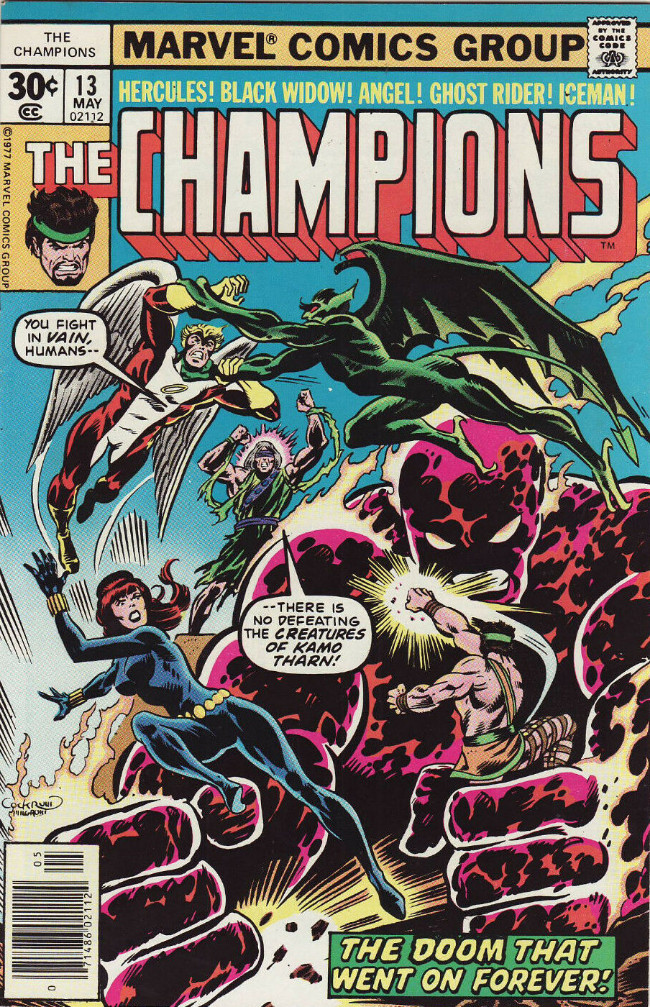 Couverture de Champions (The) (1975) -13- The Doom That Went on Forever!