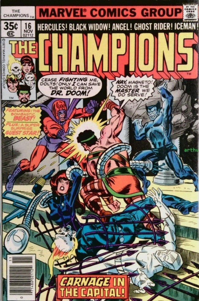 Couverture de Champions (The) (1975) -16- Day of the Death-Drones!