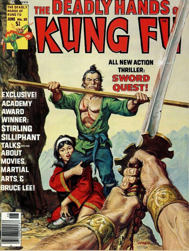Couverture de Deadly Hands of Kung Fu (The) (1974) -25- Sword Quest