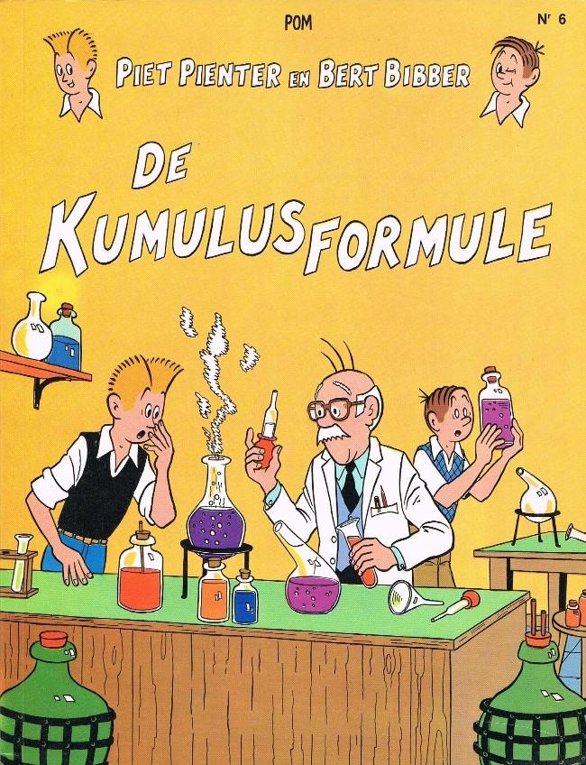 Couverture de Piet Pienter en Bert Bibber -6a85- De Kumulus formule