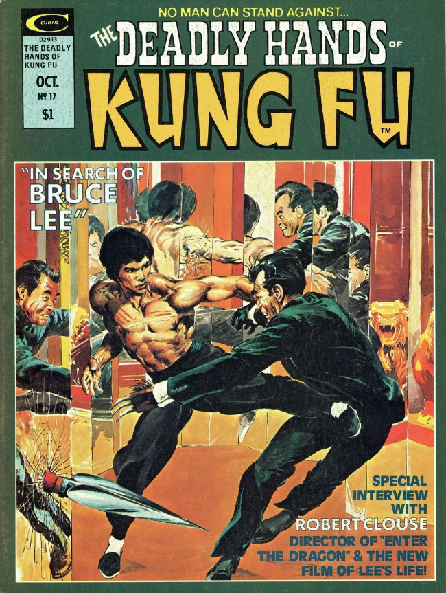 Couverture de Deadly Hands of Kung Fu (The) (Marvel - 1974) -17- In Search of Bruce Lee