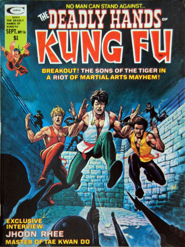 Couverture de Deadly Hands of Kung Fu (The) (1974) -16- Demons In Painted Death
