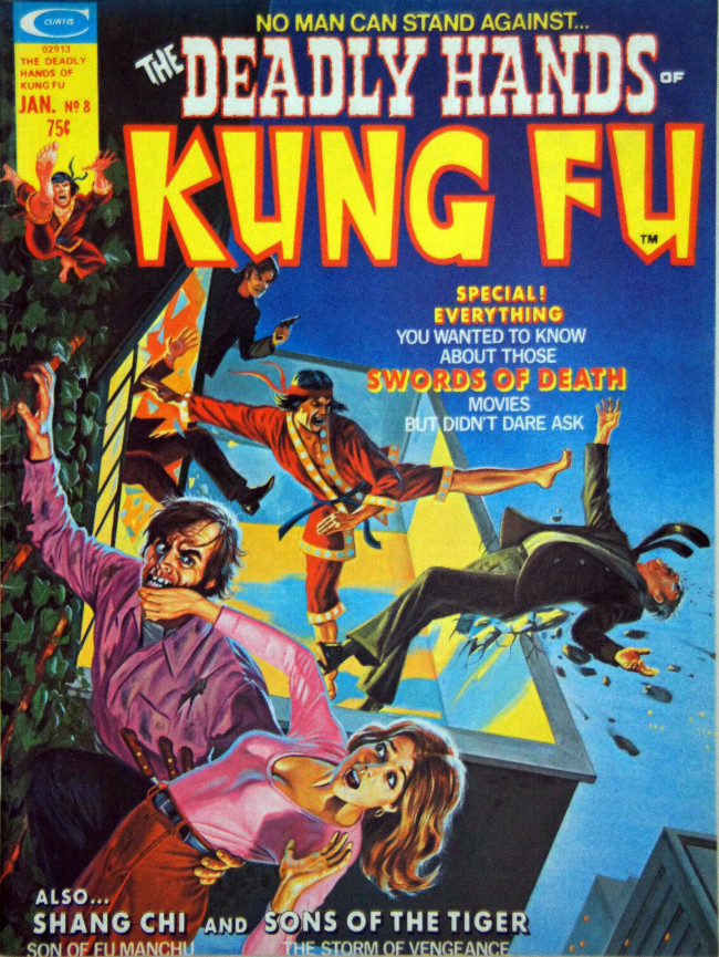 Couverture de Deadly Hands of Kung Fu (The) (1974) -8- Swords of Death