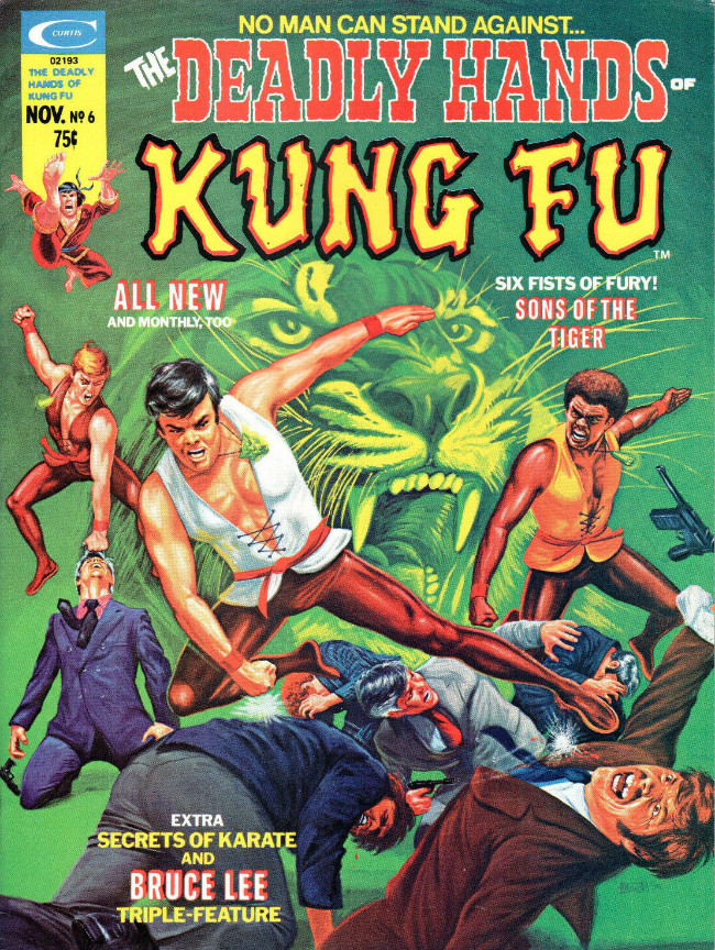 Couverture de Deadly Hands of Kung Fu (The) (1974) -6- The Way of the Jackal!