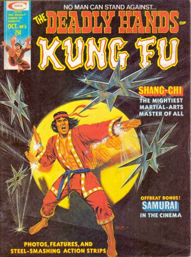 Couverture de Deadly Hands of Kung Fu (The) (1974) -5- Two Goals To Seek, One Path To Glory