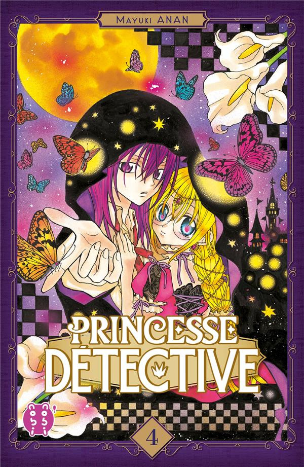 Couverture de Princesse détective -4- Tome 4