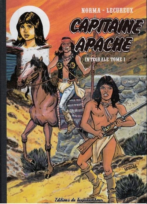 Couverture de Capitaine Apache -INT1- Intégrale tome 1