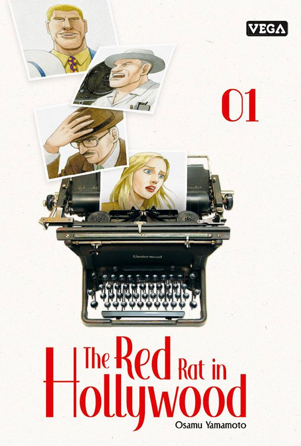 Couverture de Red Rat in Hollywood (The) -1- Tome 1