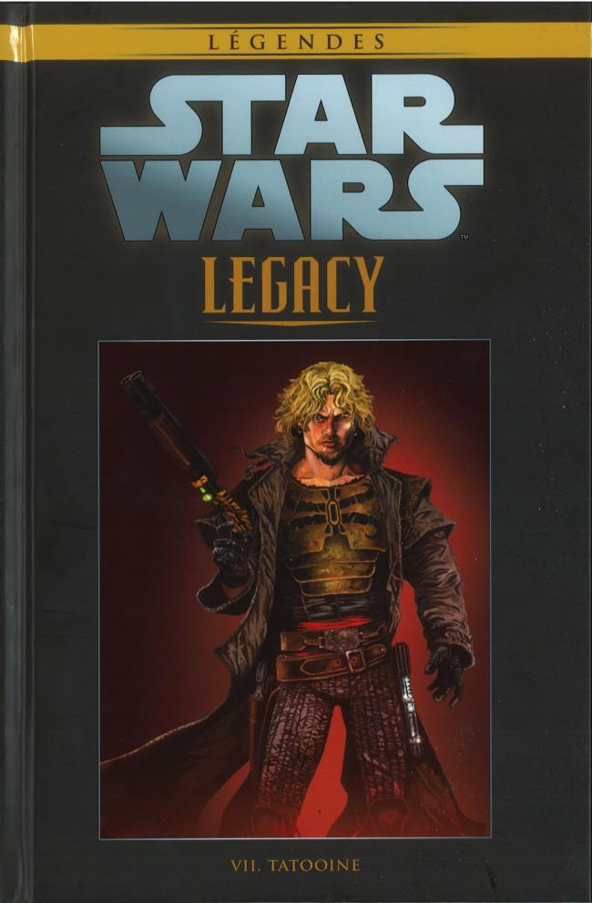 Couverture de Star Wars - Légendes - La Collection (Hachette) -9091- Star Wars Legacy - VII. Tatooine