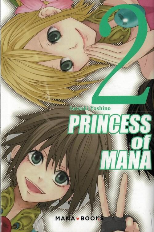 Couverture de Princess of Mana -2- Tome 2