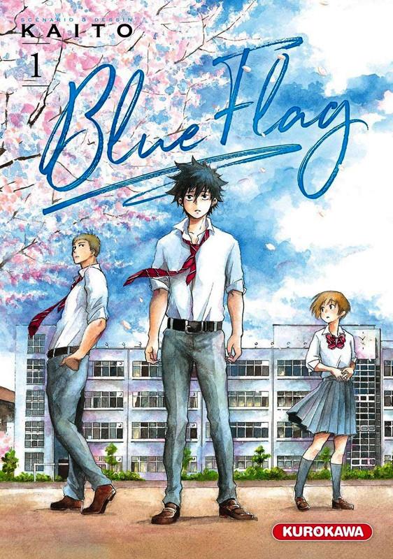 Couverture de Blue flag -1- Tome 1