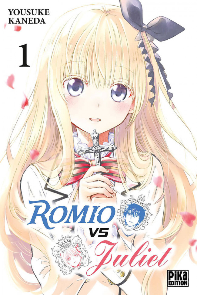 Couverture de Romio VS Juliet -1- Tome 1