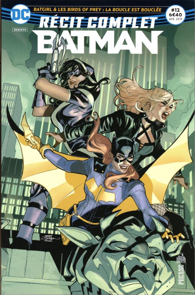 Couverture de Batman - Récit Complet (DC Presse) -12- Batgirl & les birds of prey : La boucle est bouclée