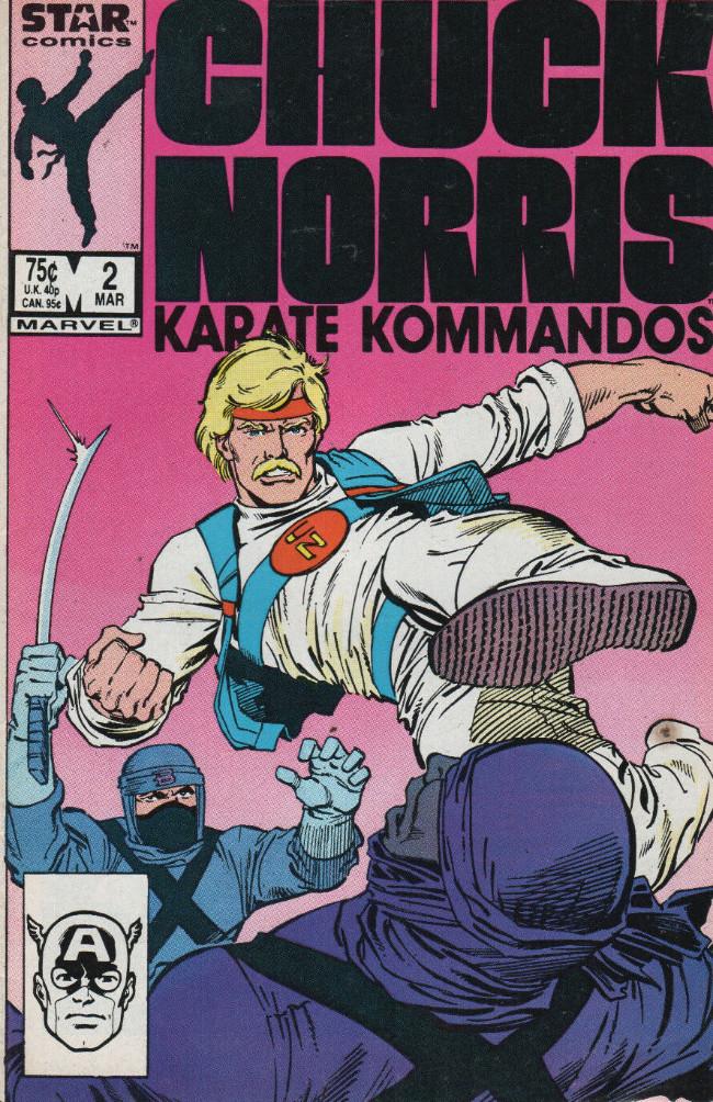 Couverture de Chuck Norris: Karate Kommandos -2- Issue #2