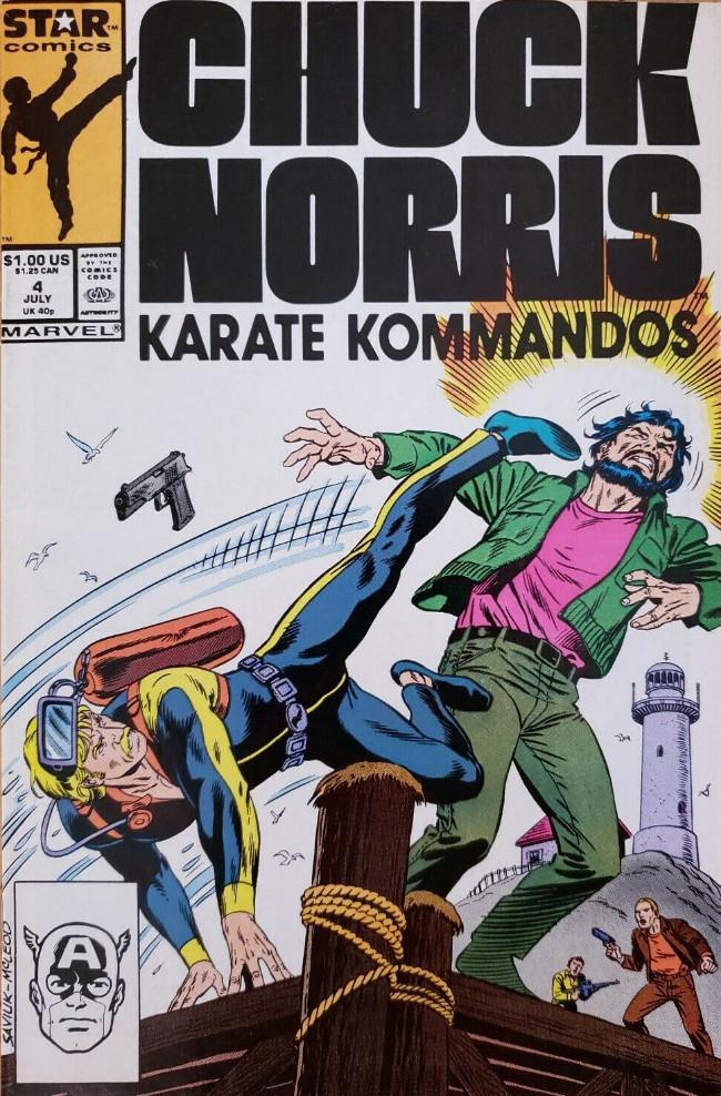 Couverture de Chuck Norris: Karate Kommandos -4- Issue #4