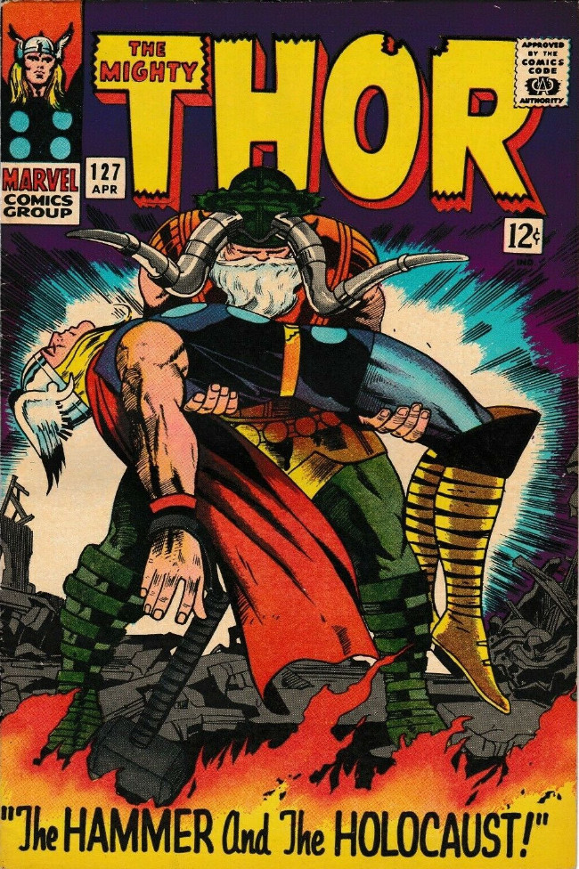 Thor 1966 127 The Hammer And The Holocaust