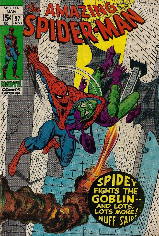 Couverture de The amazing Spider-Man Vol.1 (Marvel comics - 1963) -97- Spidey fights the Goblin