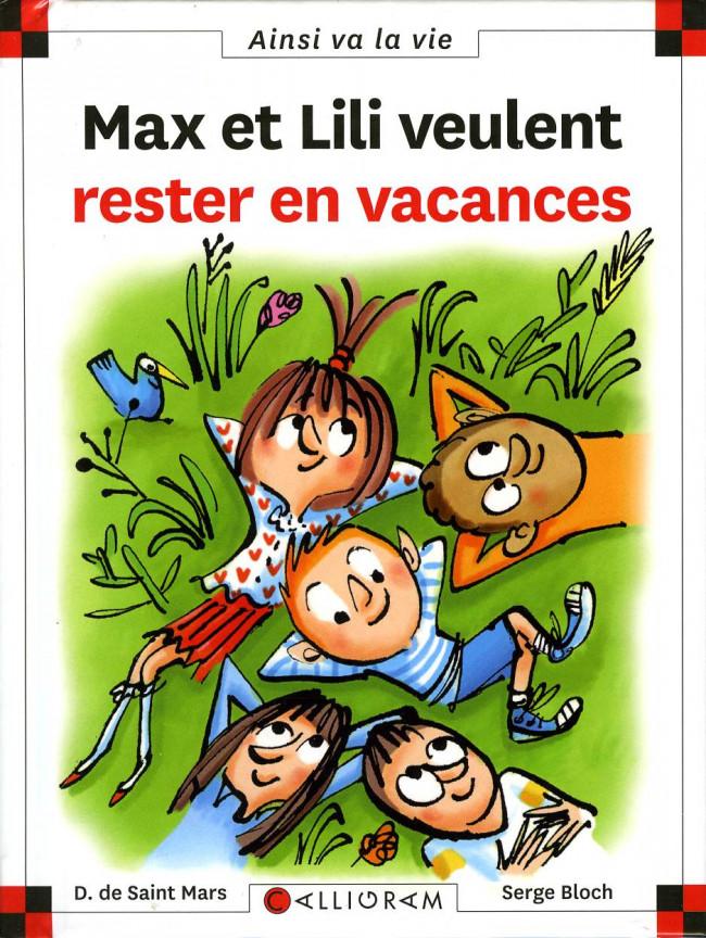 Couverture de Ainsi va la vie (Bloch) -118- Max et Lili veulent rester en vacances
