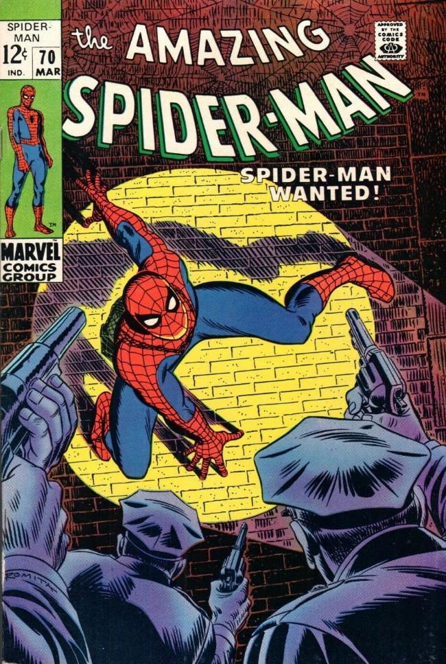Couverture de The amazing Spider-Man Vol.1 (Marvel comics - 1963) -70- Spider-Man Wanted!