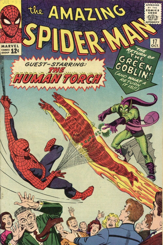 Couverture de The amazing Spider-Man Vol.1 (Marvel comics - 1963) -17- The Return of the Green Goblin!