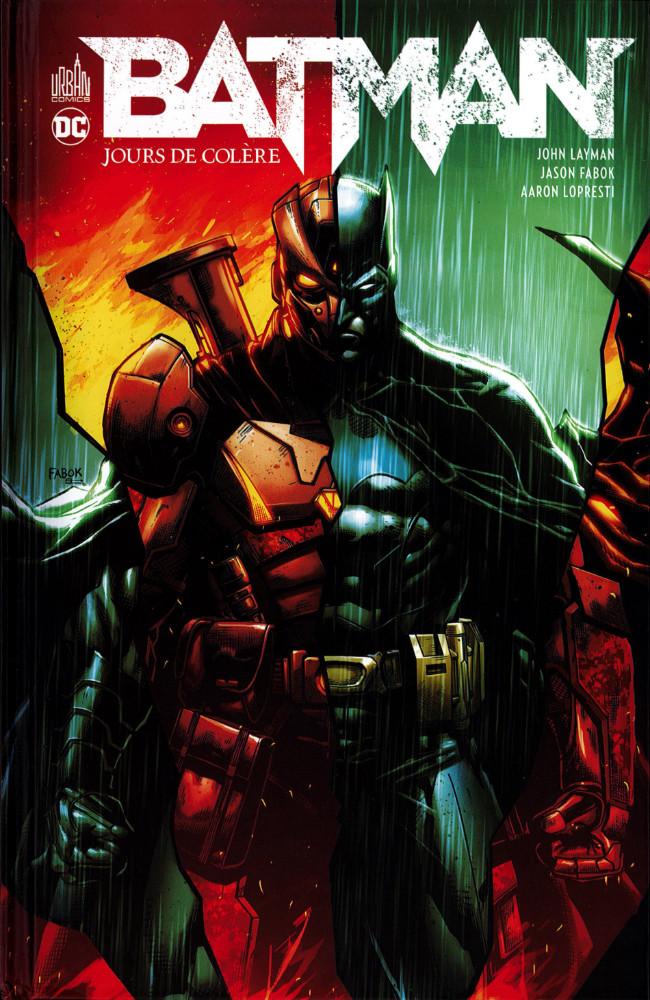 Couverture de Batman : Jours de colère