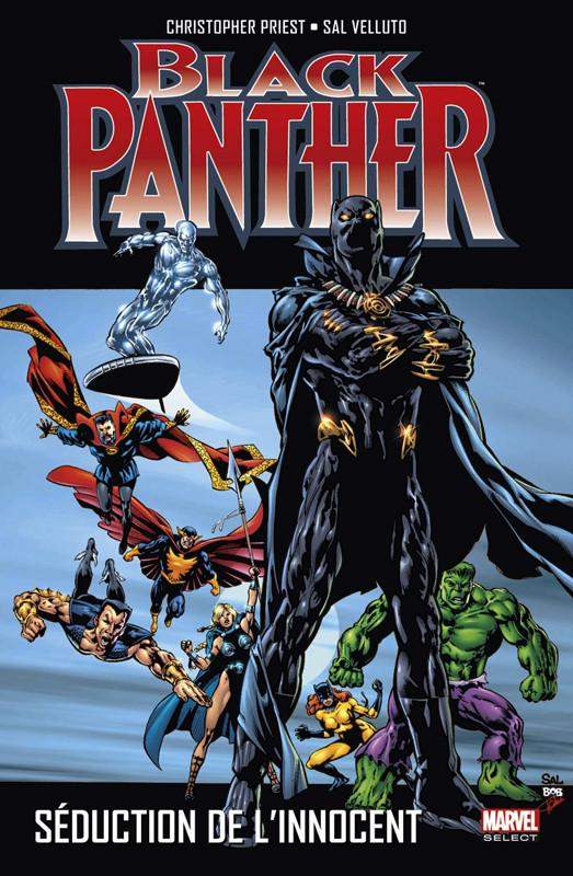 Couverture de Black Panther (Marvel select) -3- Séduction de l'innocent