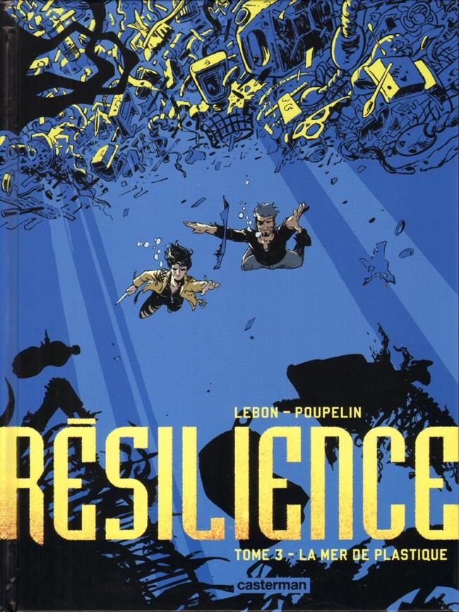 Couverture de Résilience -3- La Mer de plastique