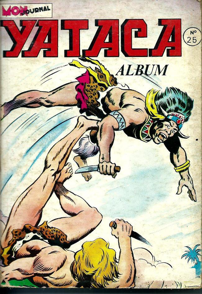 Couverture de Yataca (Fils-du-Soleil) -Rec25- Album N°25 (du n°93 au n°96)