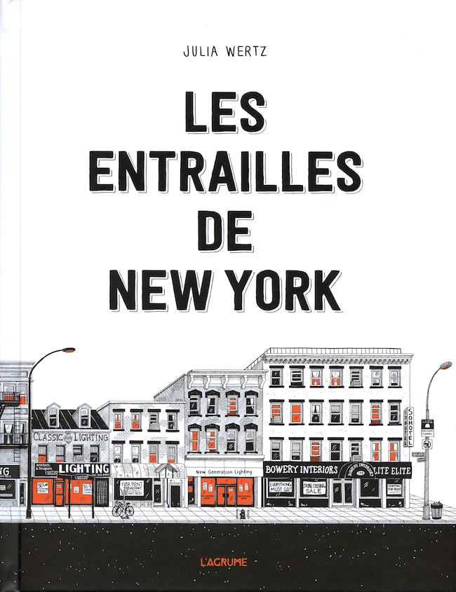 Couverture de Les entrailles de New York