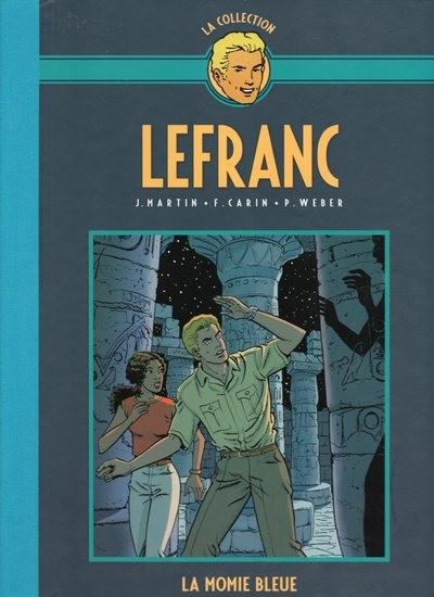 Couverture de Lefranc - La Collection (Hachette) -18- La momie bleue