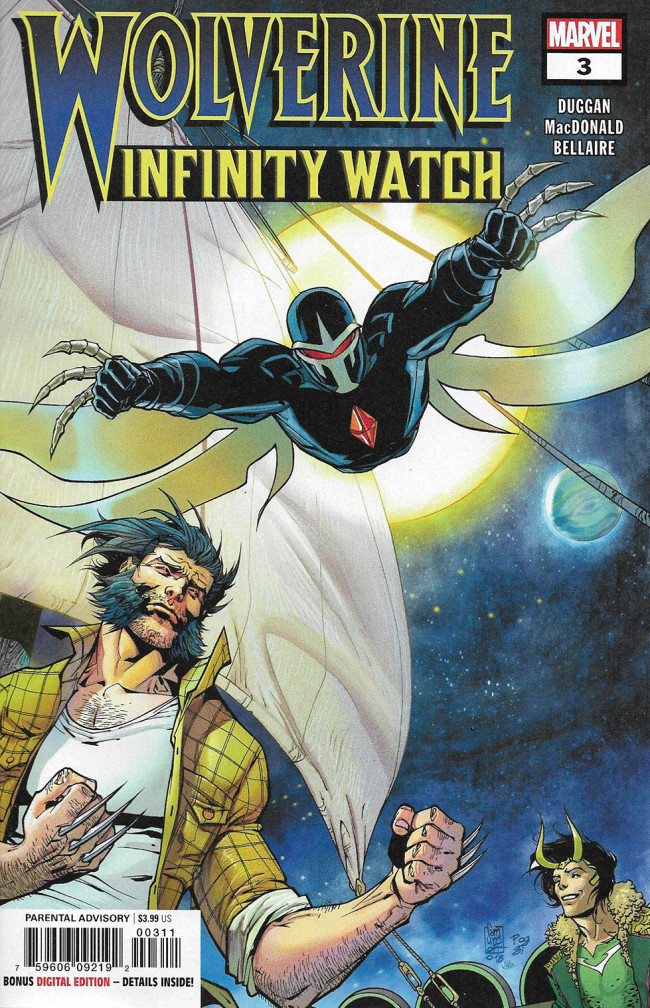 Couverture de Wolverine: Infinity Watch (2019) -3- Issue 3