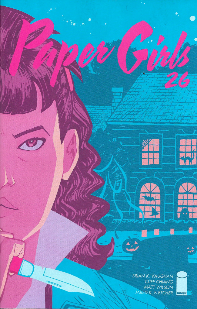 Couverture de Paper Girls (Image comics - 2015) -26- Issue #26