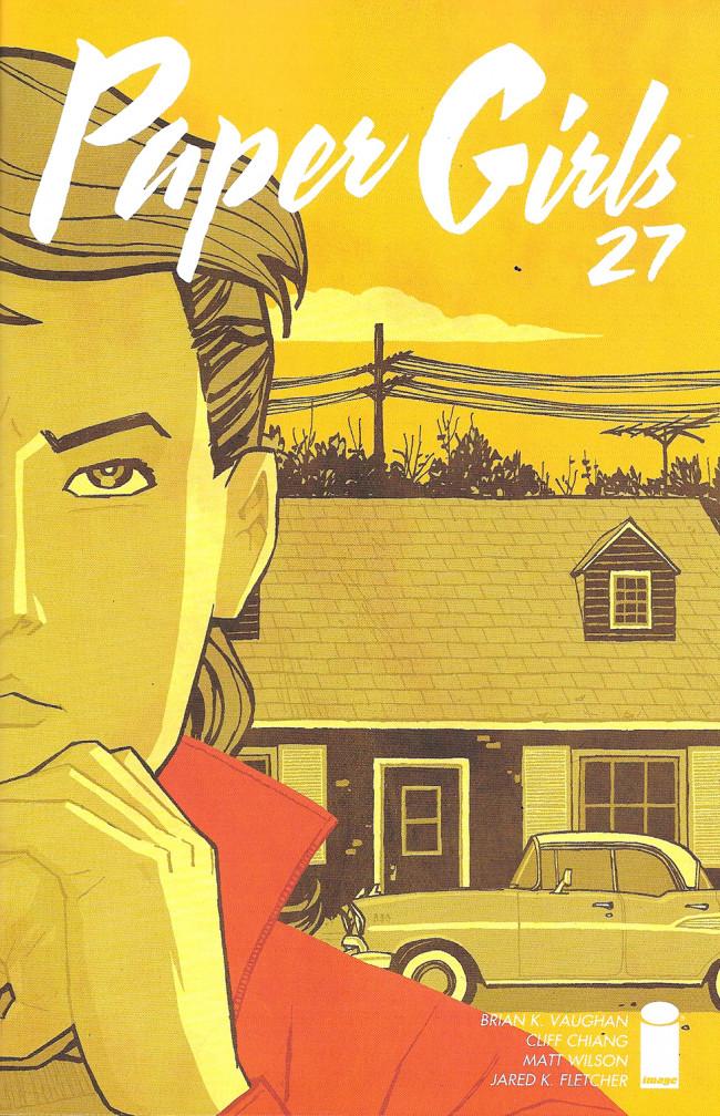 Couverture de Paper Girls (Image comics - 2015) -27- Issue #27