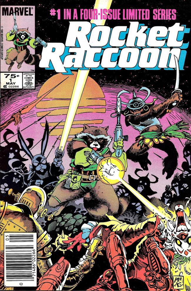Couverture de Rocket Raccoon (1985) -1- Animal Crackers