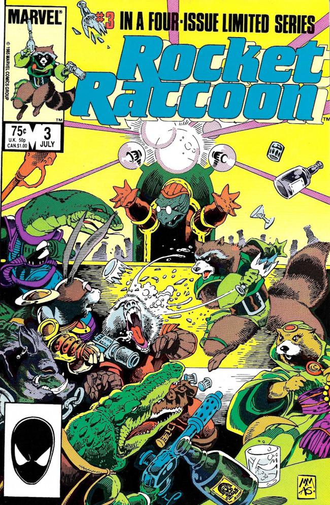 Couverture de Rocket Raccoon (1985) -3- The Book Of Revelations !