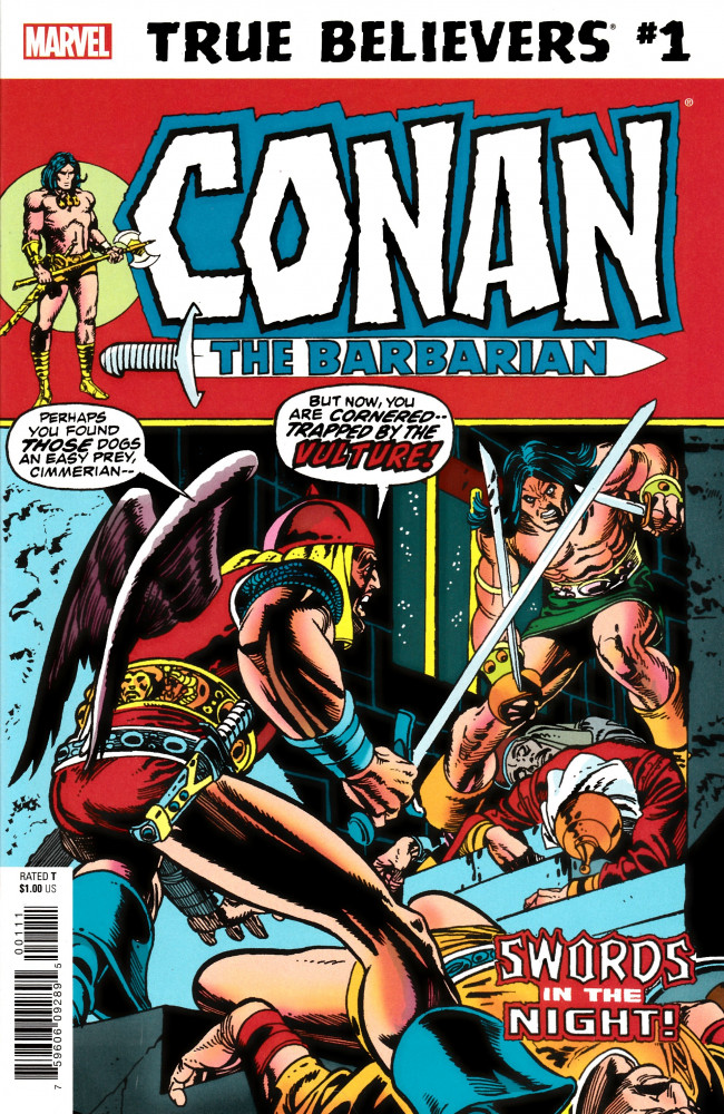 Couverture de True Believers: Conan (2019) - True Believers: Conan - Swords in the night !