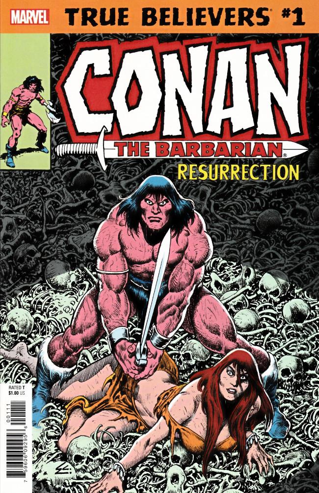 Couverture de True Believers: Conan (2019) - True Believers: Conan - Resurrection