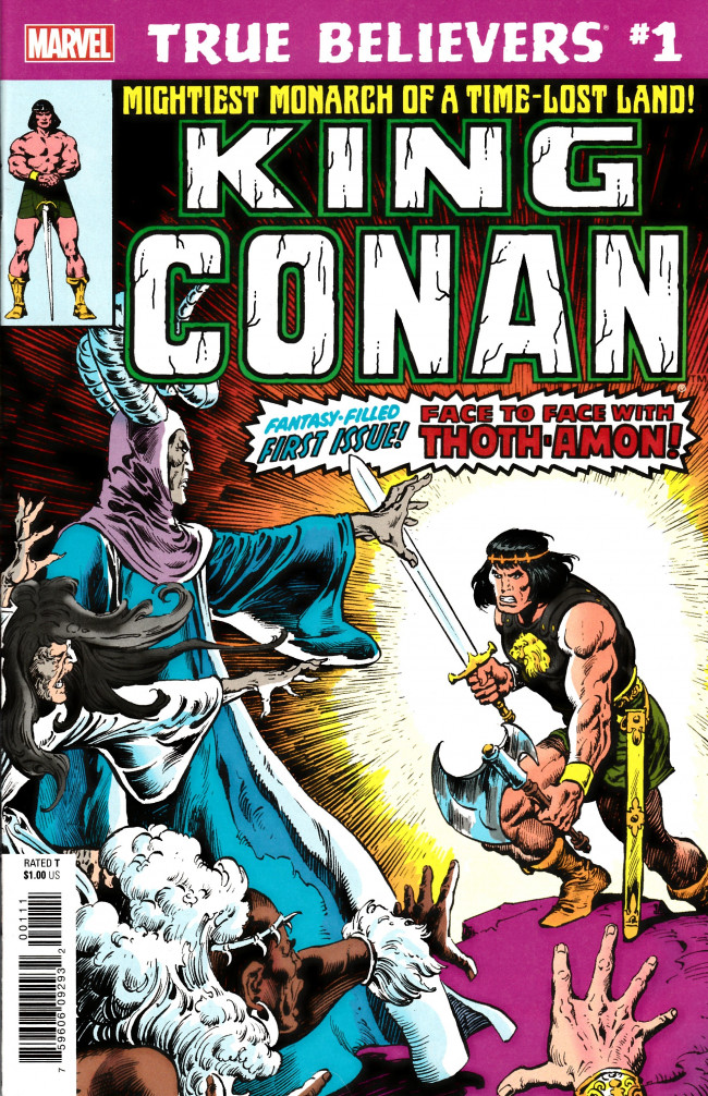 Couverture de True Believers: Conan (2019) - True Believers: King Conan